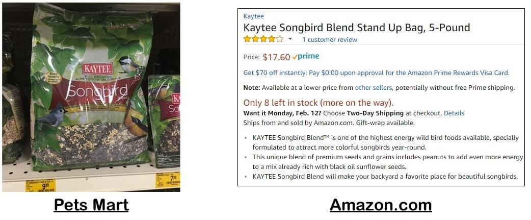 lowest price and cheapest bird seed