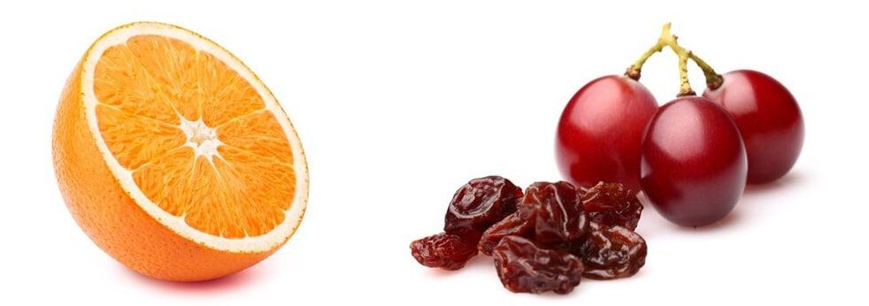 types of fruit for birds