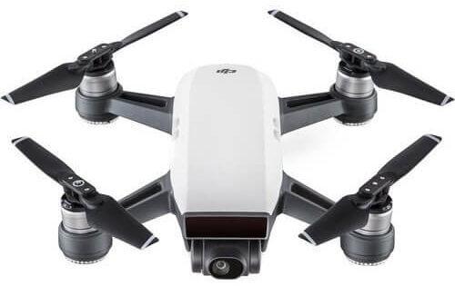dji spark as beginner drone for training