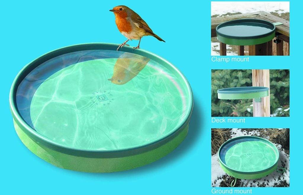 best deck mounted bird baths